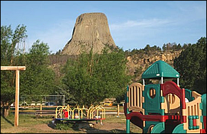 Devils Tower Wyoming RV Park, Cabins and Camping